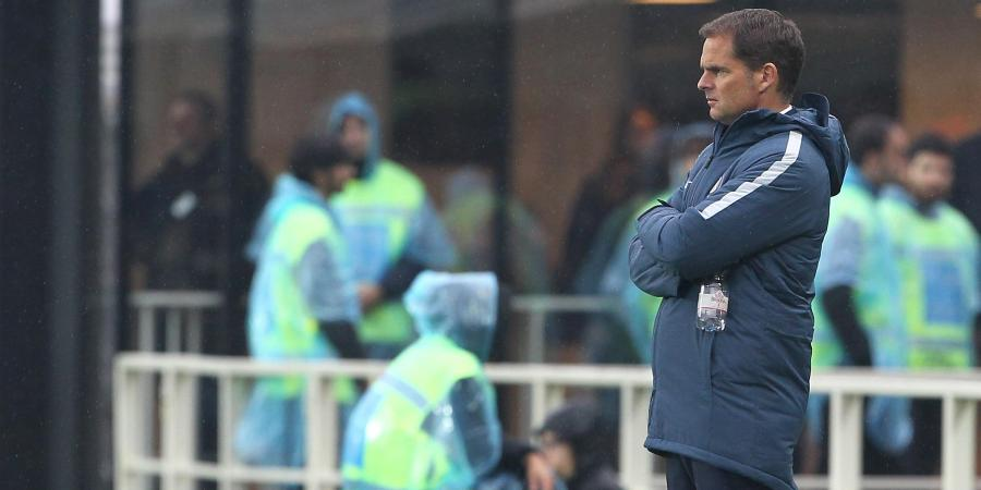 De Boer fired by Serie A club Inter Milan