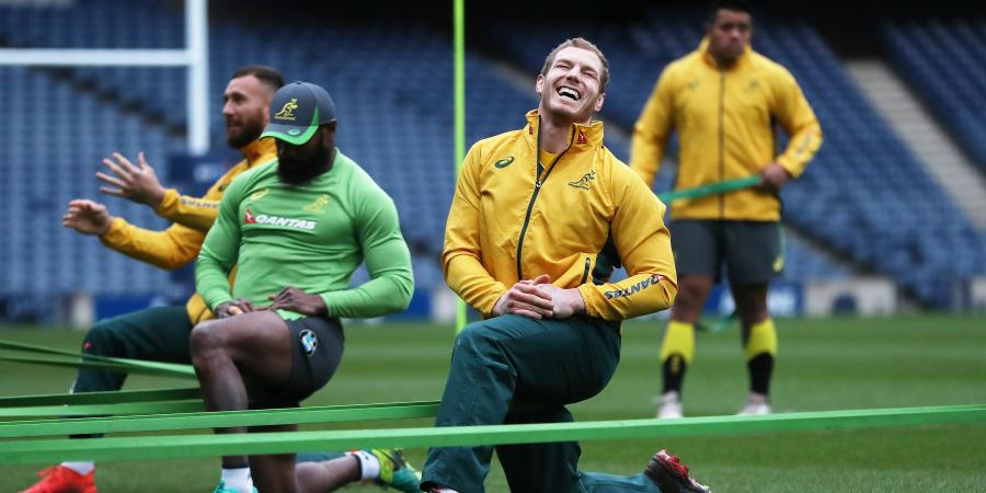 How the Wallabies line up against France