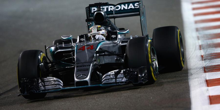 F1 heating up in Abu Dhabi