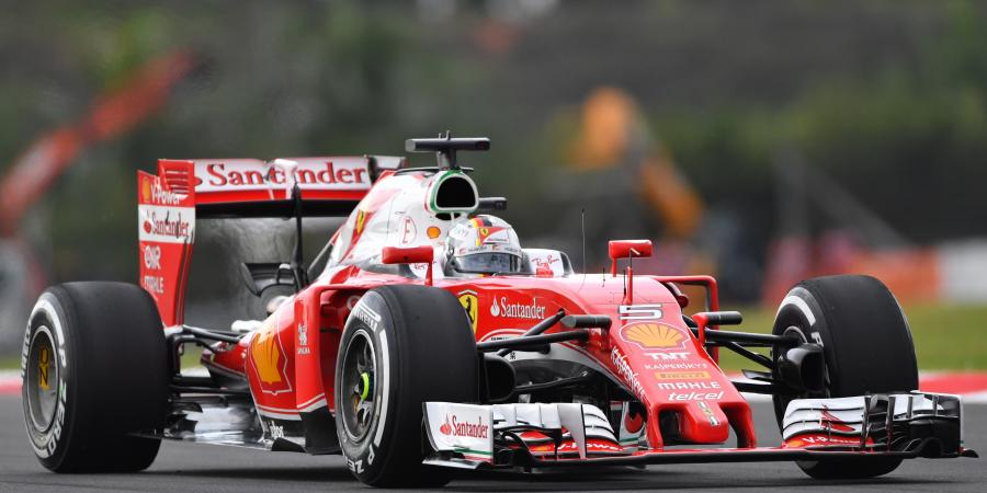 F1: Ferrari duo turn row three red