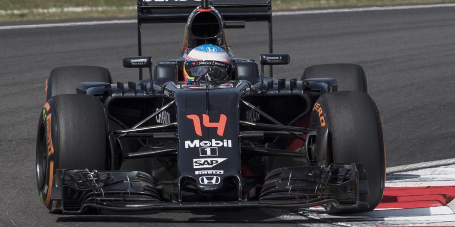 F1: 45 place grid drop sees Alonso start last