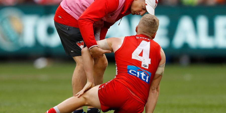 Sore AFL Swan Hannebery set for scans