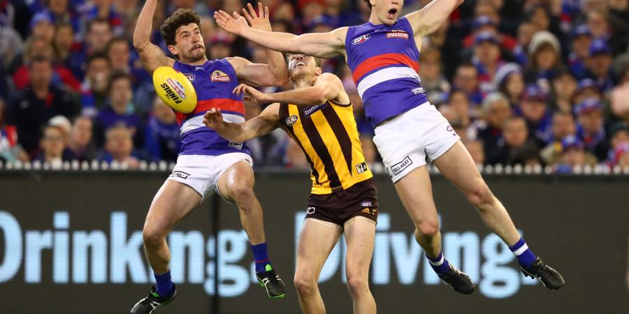 Champion Dogs free-kick favourites in AFL