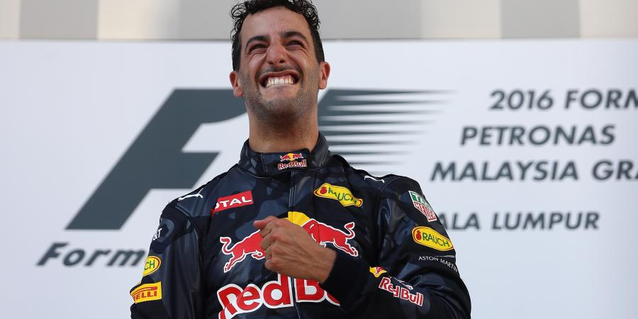 F1: Aussie men being held over Ricciardo celebrations in Malaysia