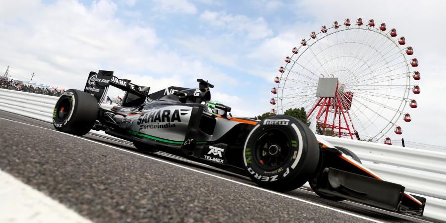 F1: Normal day for Force India