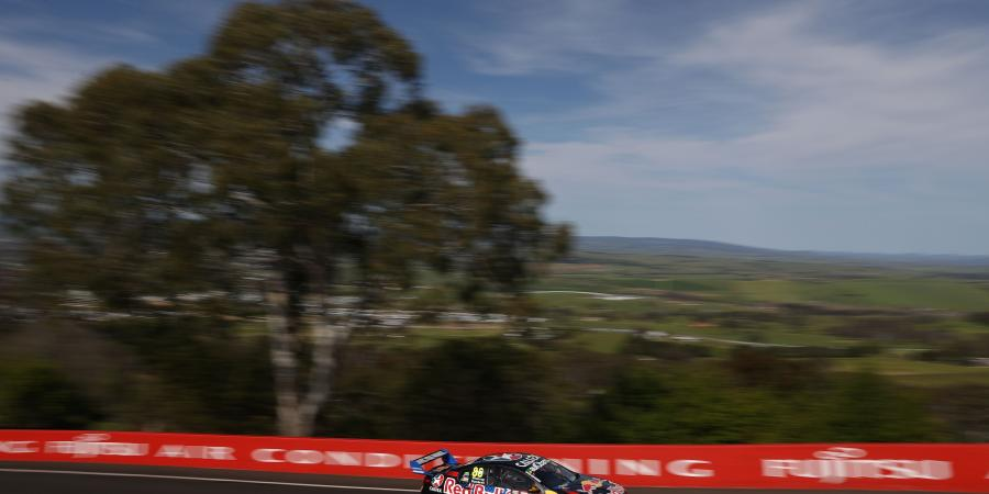 V8's: Whincup secures provisional pole on the Mountain!