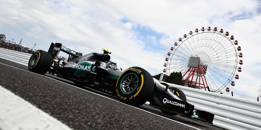 F1: Rosberg leads opening practice in Japan