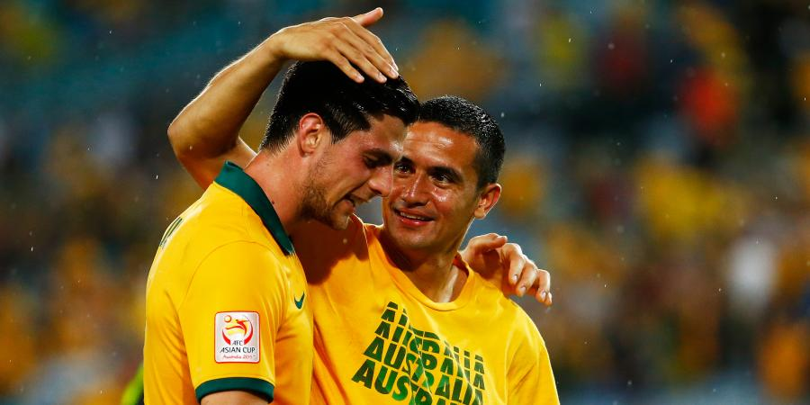 Socceroos strikers present claims
