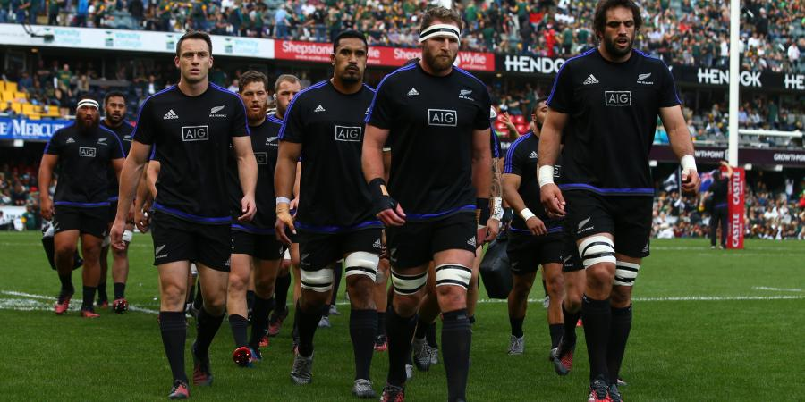 All Blacks first, daylight second