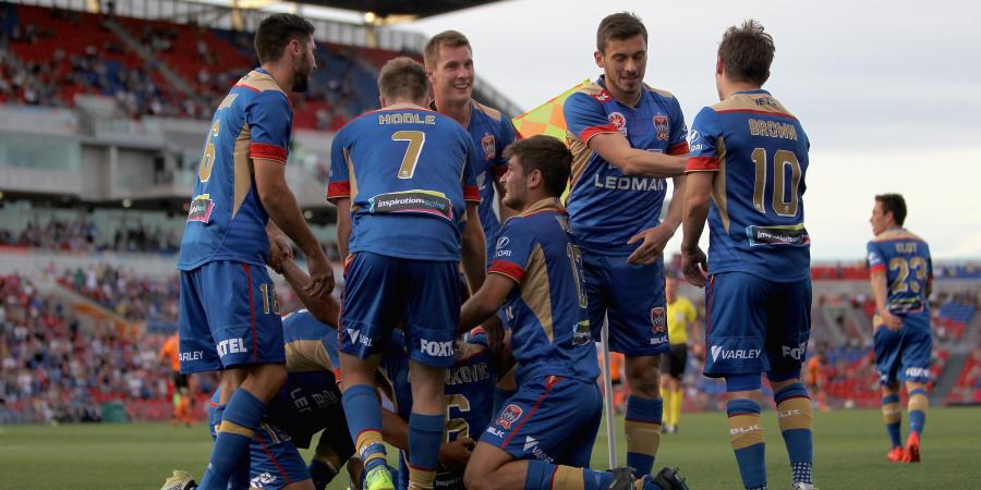Jets shock Roar 4-0 in A-League