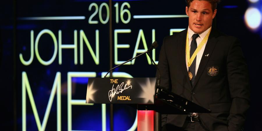 Hooper scoops prestigious Eales medal