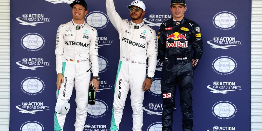 F1: Hamilton leads Mercedes one two in Mexico