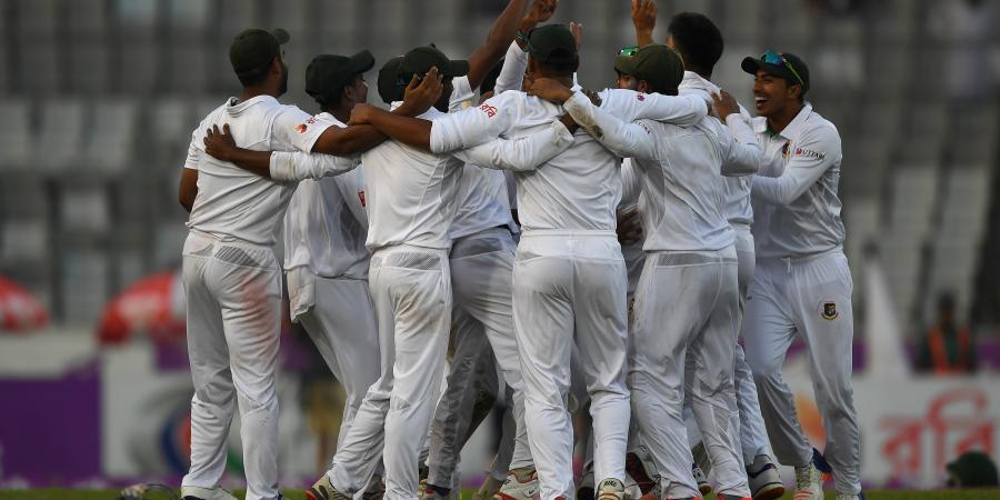 Bangladesh bag first Test win over England