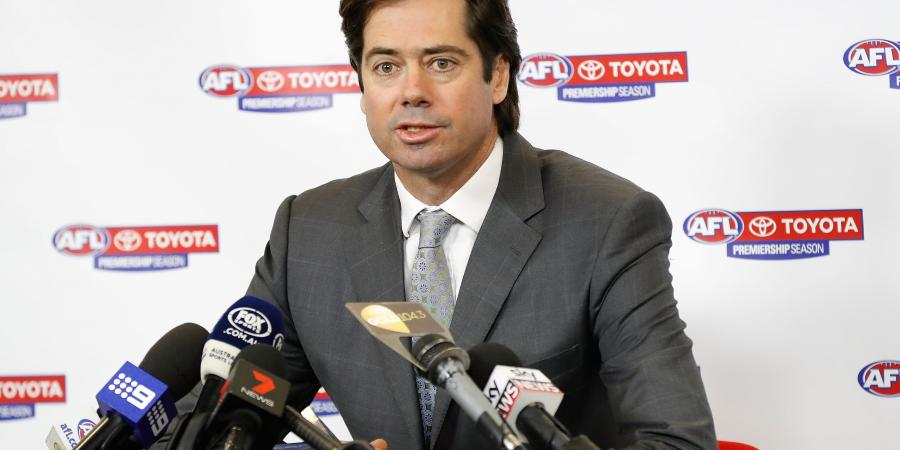 McLachlan defends AFL bye weekend