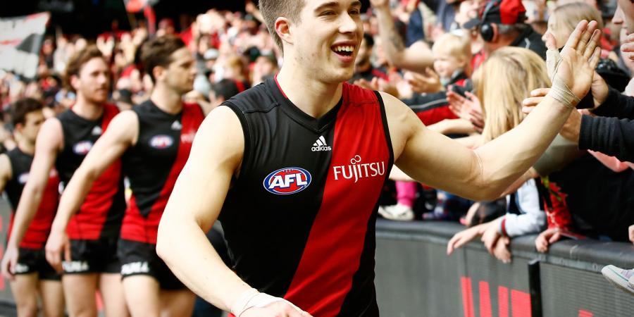 Merrett claims Bombers' best and fairest