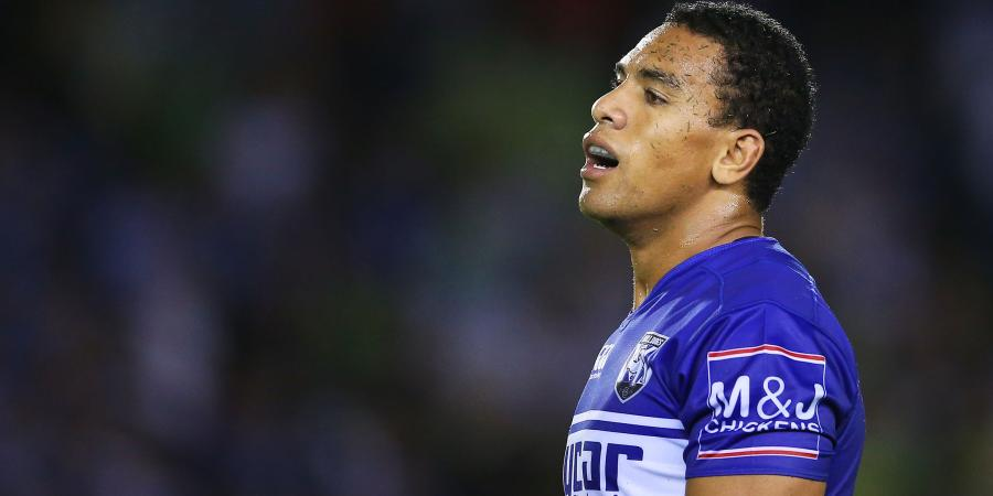 Will Hopoate out as Dogs to play Sunday