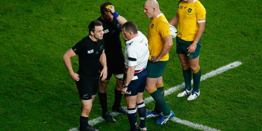 Wallaby coach Cheika cagey on ref meeting