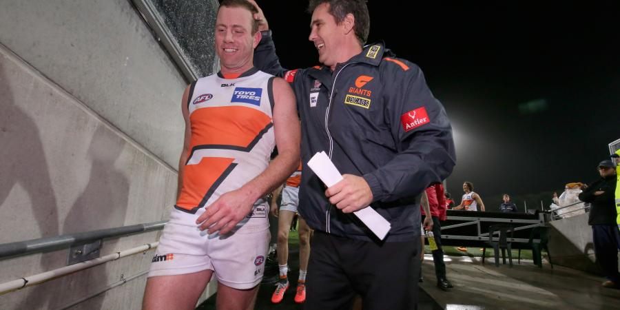 Coach backs star Giant's hard edge