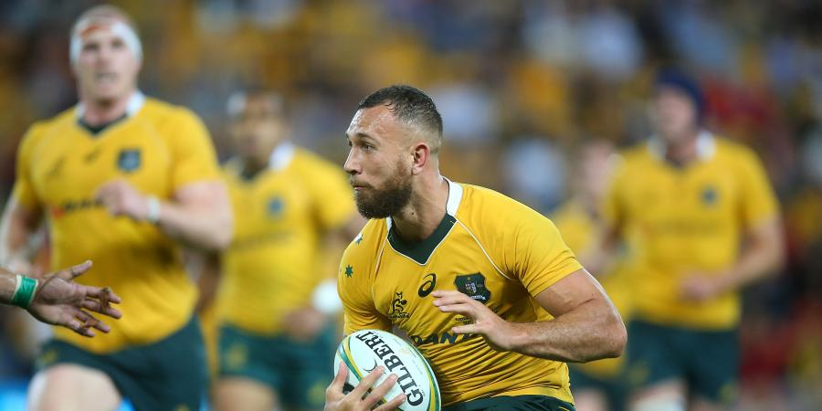 Wallaby Quade in a 'very good spot'