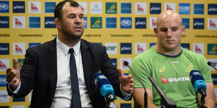 Wallabies knockers don't faze coach Cheika