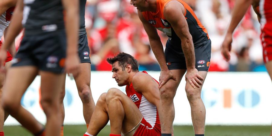GWS star Johnson to miss preliminary final