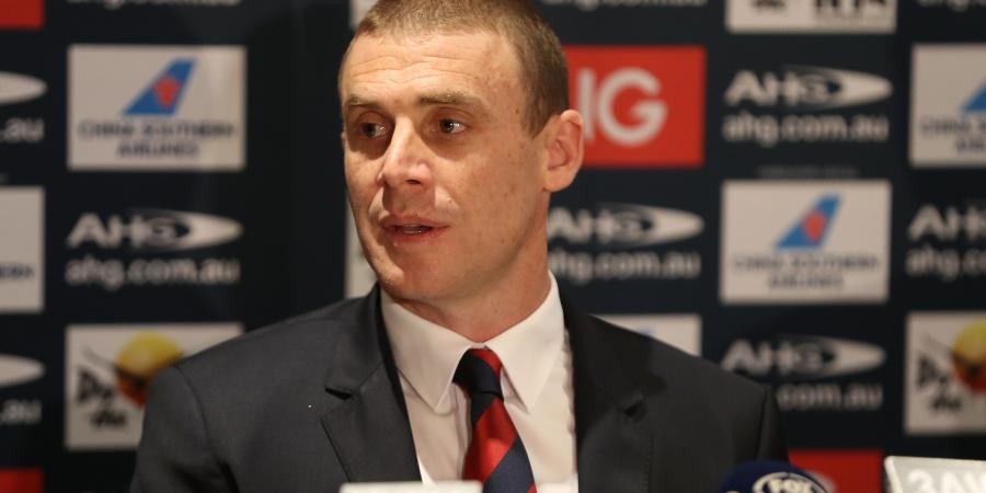 Dees coach Goodwin eyes AFL finals return