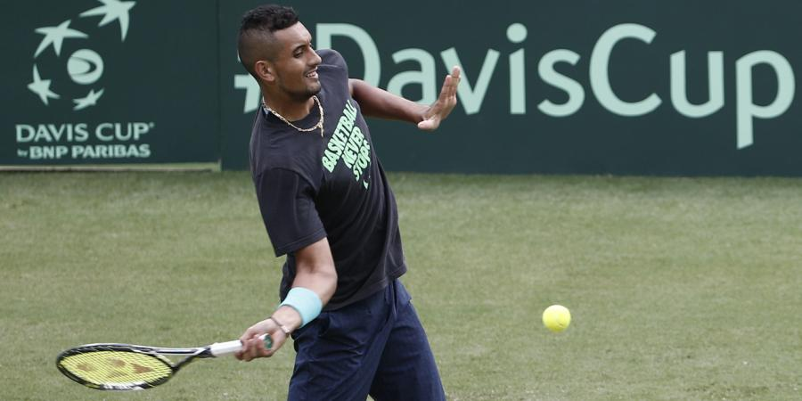Kyrgios up for Davis Cup challenge