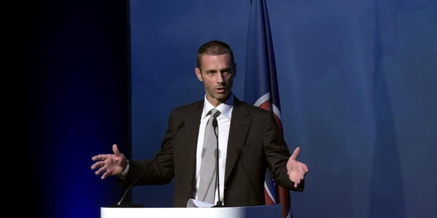 Slovenian Ceferin voted new UEFA president