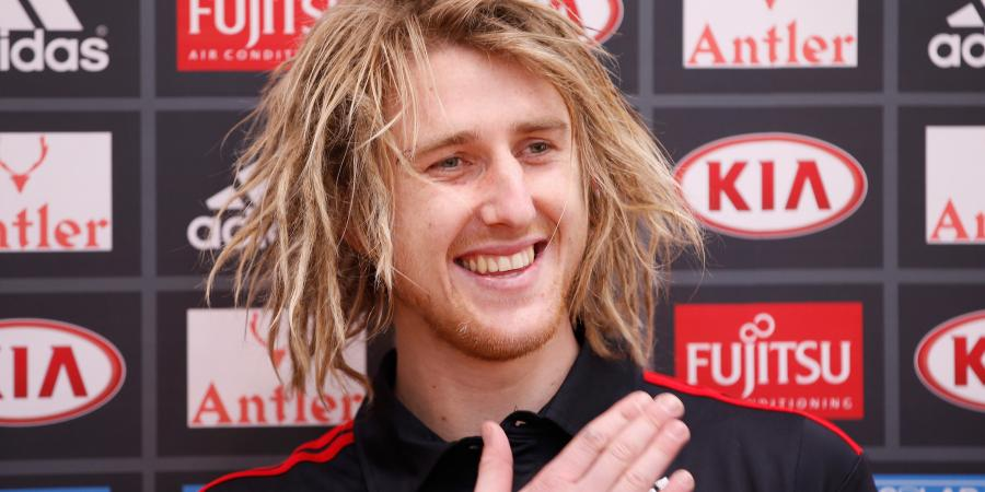 Heppell would love to captain 'Dons in AFL
