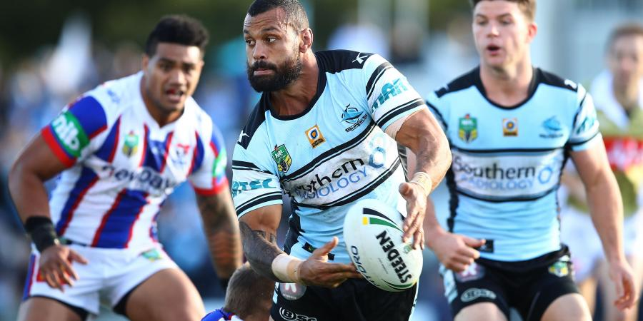 Sharks hit man ready to go around again