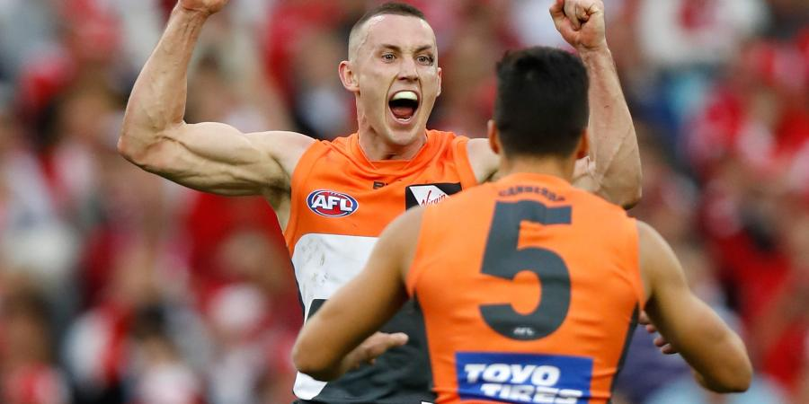 GWS on course for AFL flag record