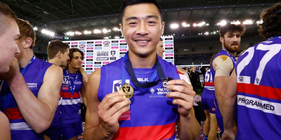 Jong on song as Footscray win VFL title