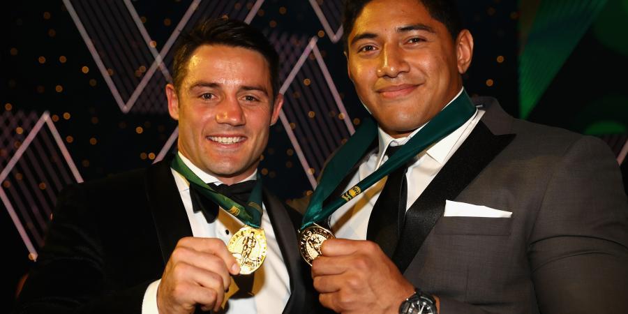 Cronk, Taumalolo win Dally M medal