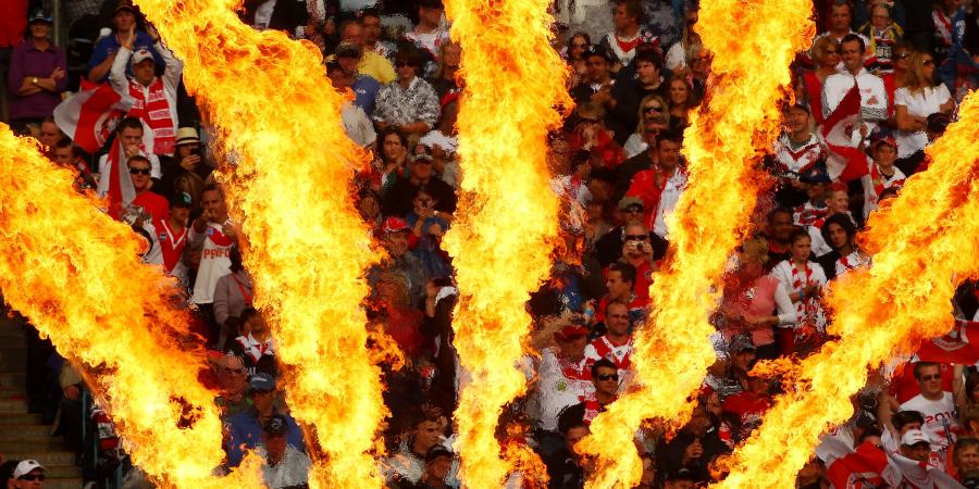 Dragons' Fans Feel Fire Within