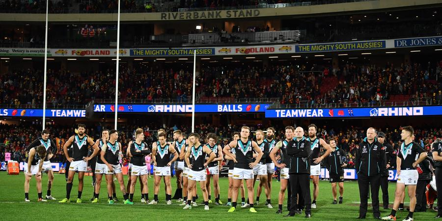 Crows Obliterate Port Adelaide In Showdown 43