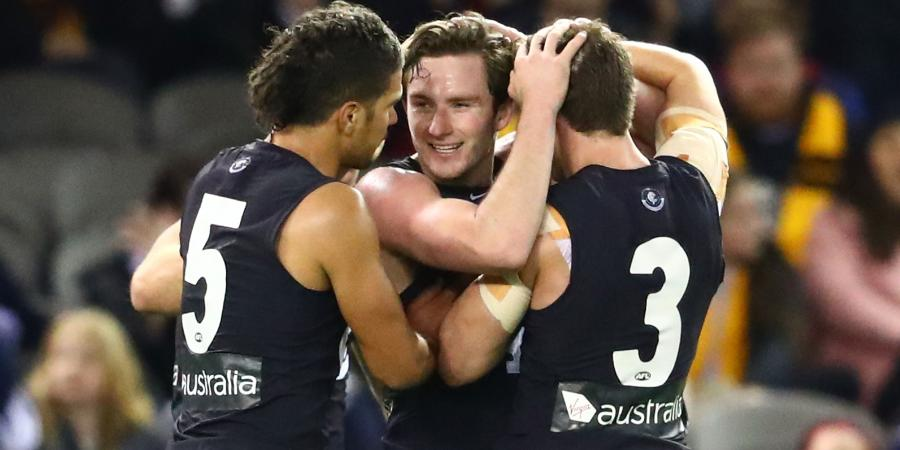 Media Accountability and Carlton's rise in 2018.