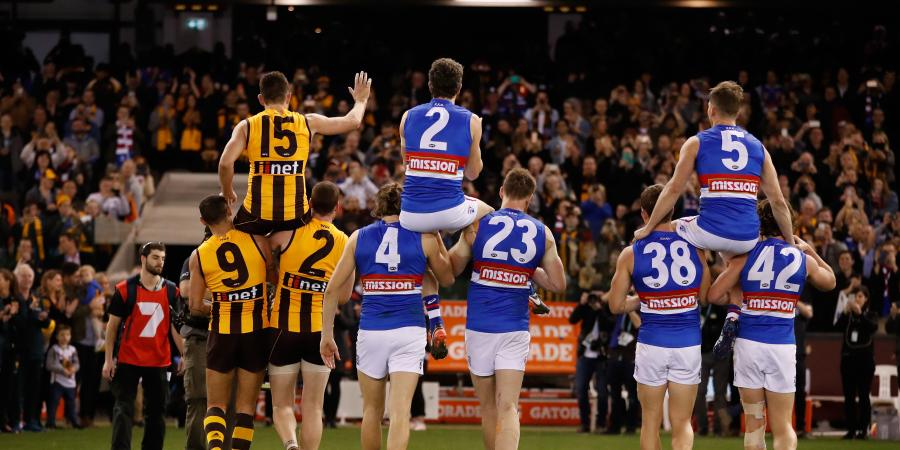 Farewell Champions: Hawthorn Farewell Hodge With A Win Over Bob, Boyd and The Bulldogs