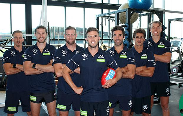 Carlton's 2017 Leadership Group includes a great player!