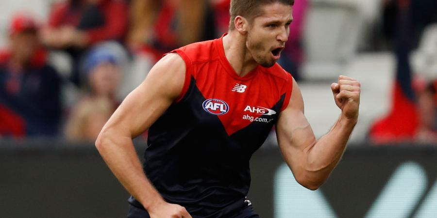 Settled Hogan to take Demons up AFL ladder