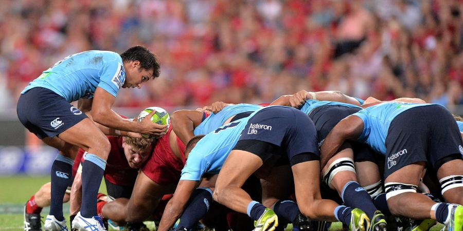 Gibson opts for Tahs' strongest scrum
