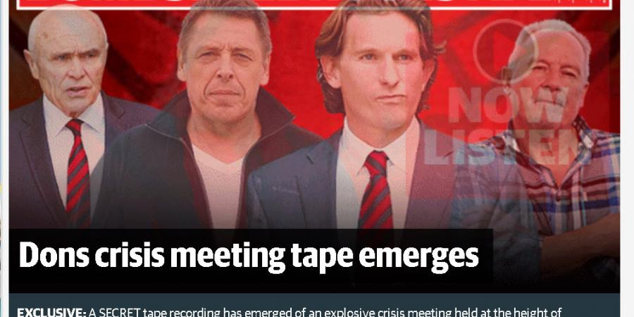 Essendon Tapes...enough already!