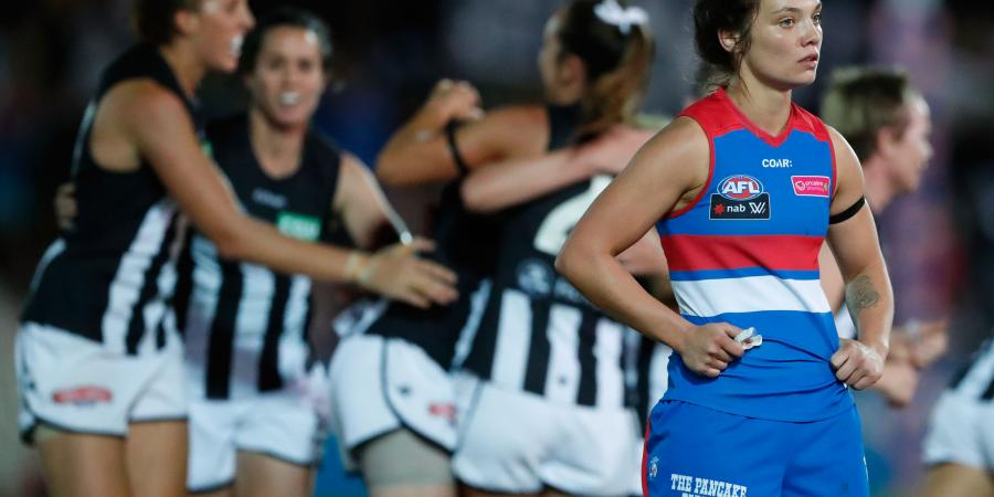 Falling: Dogs' Ladies Fall Short Against The Pies, Fall Further Away From Finals Contention