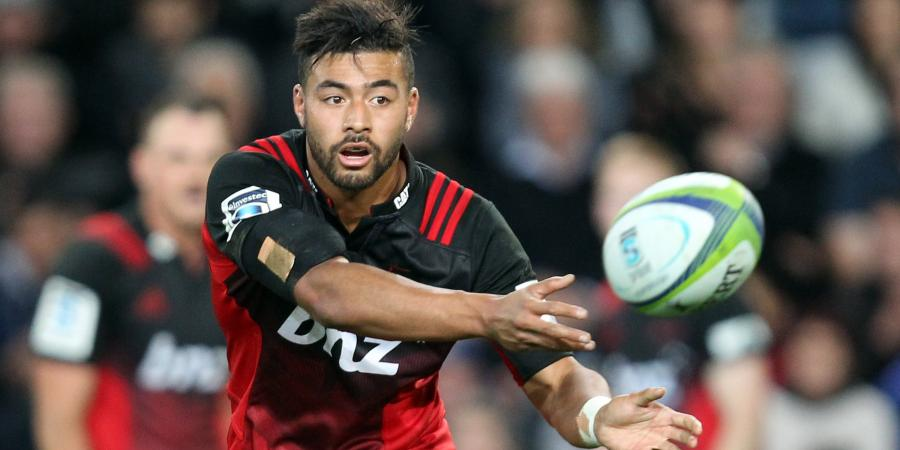 Mo'unga breaks hand, out for six weeks