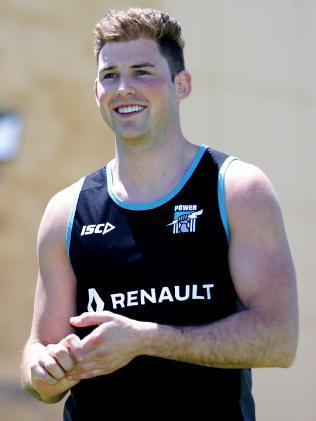 Brett Eddy: Ready to take his AFL chance