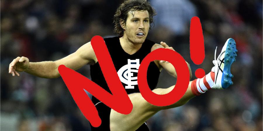 Tippett - not a good fit for Carlton!
