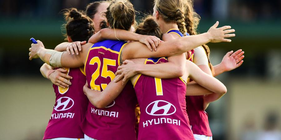 The Streaks Live On: Lions Roar Into AFLW Grand Final, Dogs Whimper Into Last Place