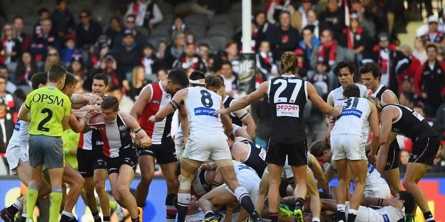 St. Kilda v Carlton...Five Points!