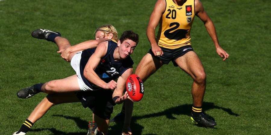 Why Draft Hopeful Nick Coffield And The Western Bulldogs Is A Perfect Fit