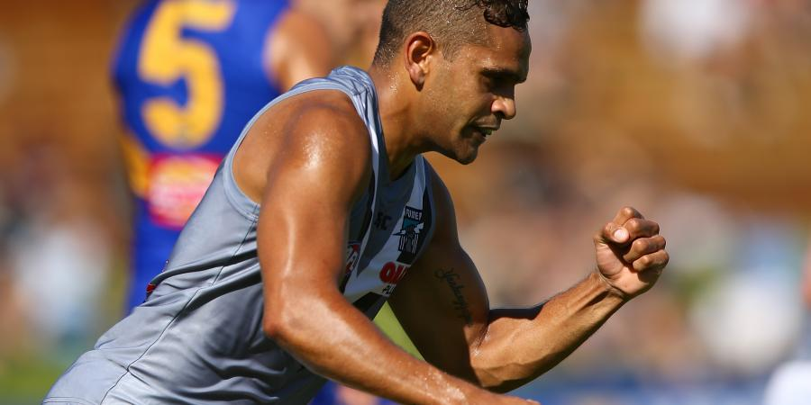 Dom Barry pushing his case for round one selection
